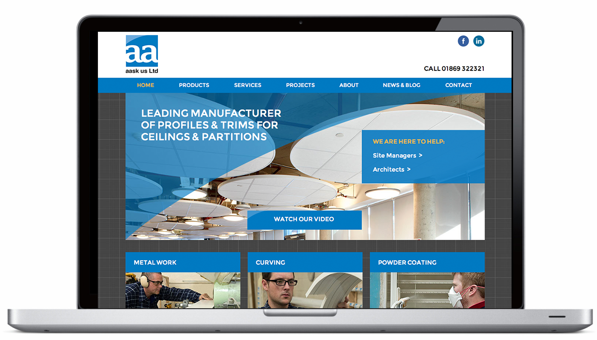 New website for aask us